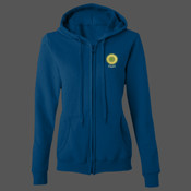 GD080 Gildan Ladies Full-Zip HOODIE